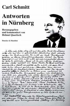 Antworten in Nürnberg - Schmitt, Carl