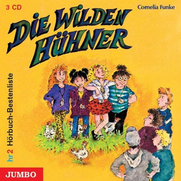 Die Wilden Hühne / Die Wilden Hühner Bd.1 (Audio-CD) - Funke, Cornelia