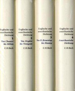 Englische und amerikanische Dichtung, 4 Bde. - Koppenfels, Werner von (Hrsg.)