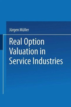 Real Option Valuation in Service Industries