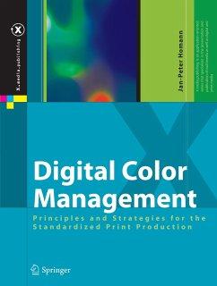 Digital Color Management - Homann, Jan-Peter