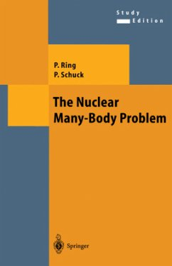 The Nuclear Many-Body Problem - Ring, Peter; Schuck, Peter