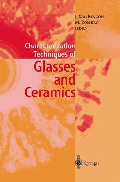 Characterization Techniques of Glasses and Ceramics - Rincon