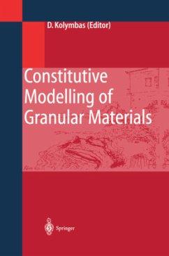 Constitutive Modelling of Granular Materials - Kolymbas, Dimitrios