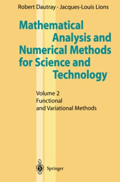Mathematical Analysis and Numerical Methods for Science and Technology - Dautray, Robert; Lions, Jacques-Louis