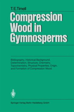Compression Wood in Gymnosperms - Timell, Tore E.