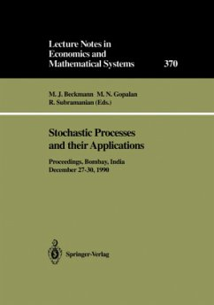 Stochastic Processes and their Applications - Beckmann