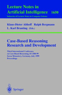Case-Based Reasoning Research and Development - Althoff, Klaus-Dieter / Bergmann, Ralph / Branting, L. Karl (eds.)