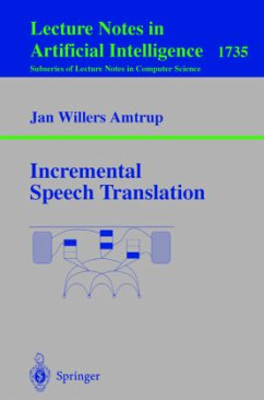 Incremental Speech Translation - Amtrup, Jan W.