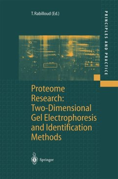 Proteome Research: Two-Dimensional Gel Electrophoresis and Identification Methods - Rabilloud, Thierry (ed.)