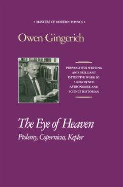 The Eye of Heaven: Ptolemy, Copernicus, Kepler - Gingerich, Owen
