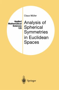 Analysis of Spherical Symmetries in Euclidean Spaces - Müller, Claus
