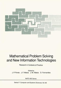 Mathematical Problem Solving and New Information Technologies - Ponte