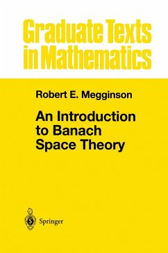 An Introduction to Banach Space Theory - Megginson, Robert E.