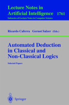 Automated Deduction in Classical and Non-Classical Logics - Caferra, Ricardo / Salzer, Gernot (eds.)