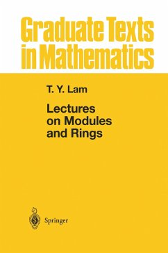 Lectures on Modules and Rings - Lam, Tsit Yuen