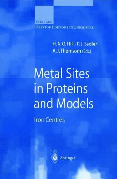 Metal Sites in Proteins and Models - Hill, H.A.O. / Sadler, P.J. / Thomson, A.J. (eds.)