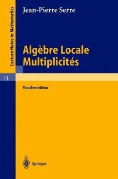 Algebre Locale. Multiplicites