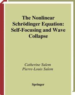 The Nonlinear Schrödinger Equation - Sulem, Catherine; Sulem, Pierre-Louis