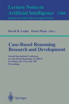 Case-Based Reasoning Research and Development - Leake