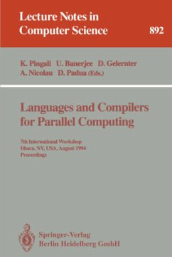 Languages and Compilers for Parallel Computing - Pingali