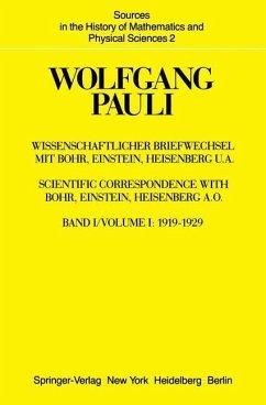 Wissenschaftlicher Briefwechsel mit Bohr, Einstein, Heisenberg u.a. - Pauli, Wolfgang