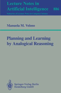 Planning and Learning by Analogical Reasoning - Veloso, Manuela M.
