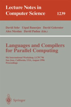Languages and Compilers for Parallel Computing - Sehr