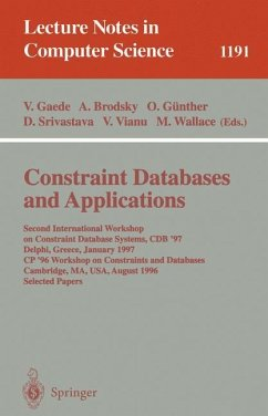 Constraint Databases and Applications - Gaede