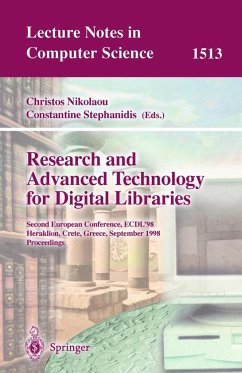 Research and Advanced Technology for Digital Libraries - Nikolaou