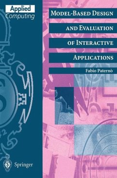 Model-Based Design and Evaluation of Interactive Applications - Paternò, Fabio