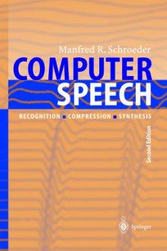 Computer Speech - Schroeder, Manfred R.
