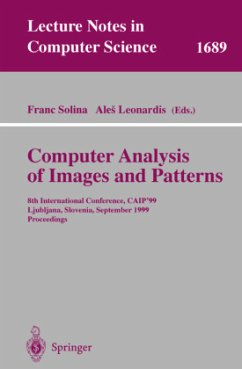 Computer Analysis of Images and Patterns - Solina, Franc / Leonardis, Ales (eds.)