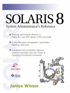 Solaris 8 System Administrator's Reference - Winsor, Janice