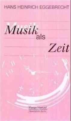 Musik als Zeit