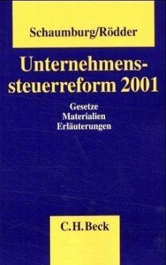 Unternehmenssteuerreform 2001