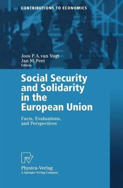 Social Security and Solidarity in the European Union - Vugt, Joos P.A. van / Peet, Jan M. (eds.)