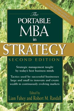 The Portable MBA in Strategy - Fahey; Randall
