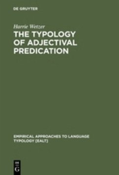 The Typology of Adjectival Predication - Wetzer, Harrie
