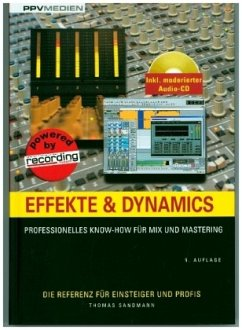 Effekte & Dynamics, m. Audio-CD