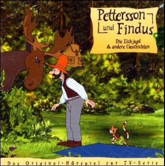 Die Elchjagd & andere Geschichten / Pettersson & Findus Bd.4 (1 Audio-CD)