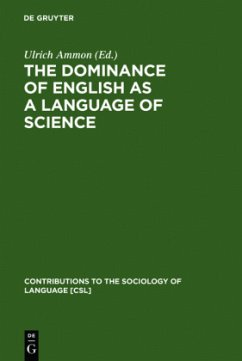 The Dominance of English as a Language of Science - Ammon, Ulrich (ed.)