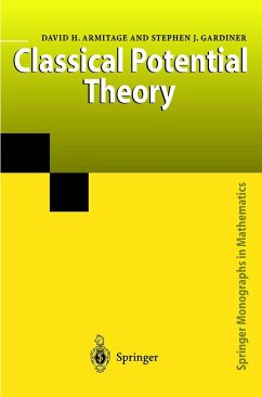 Classical Potential Theory - Armitage, David H.; Gardiner, Stephen J.