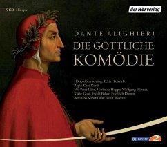 Die göttliche Komödie, 5 Audio-CDs - Dante Alighieri