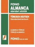 Fono Almanca Standart Sözlük Almanca - Türkce Türkce - Almanca