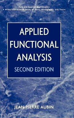 Applied Functional Analysis 2e - Aubin, Jean-Pierre