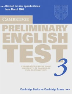 Cambridge Preliminary English Test 3