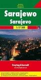 Freytag & Berndt Stadtplan Sarajewo; Sarajevo