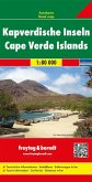 Freytag & Berndt Autokarte Kapverdische Inseln/ Cape Verde Islands / Cap-Vert / Cabo Verde / Capo Verde