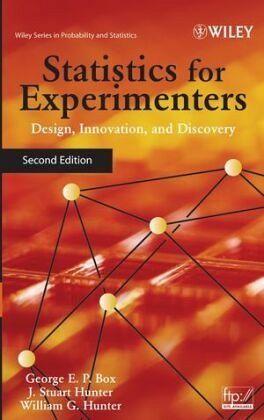 Statistics for experimenters